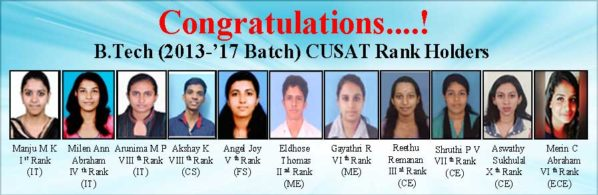 CUSAT_rank holders
