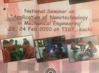 ME_National seminar on Application of Nano Technology in Mechanical Engineering
