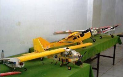Model Airplanes Display