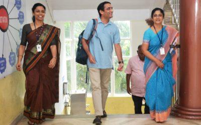 Dr Suresh_Campus Visit