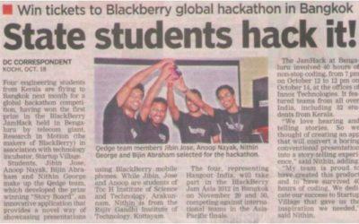 Blackberry Jam Asia Hackathon1