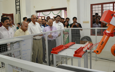 Commissioning of ABB Robot at Toc H