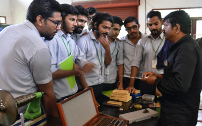 Experiments in Metrology Lab
