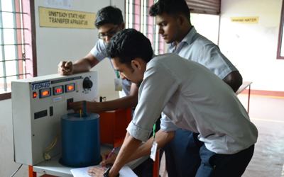Unsteady State of Heat Transfer test apparatus