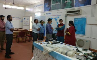 Prof. (Dr.) M. Abdul Rahiman, Pro- VC, KTU, visiting DAIKIN – TIST COE.